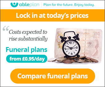 Ableplan Funeral Banner
